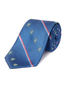 Midhurst Mini Stripe Tie with Shields