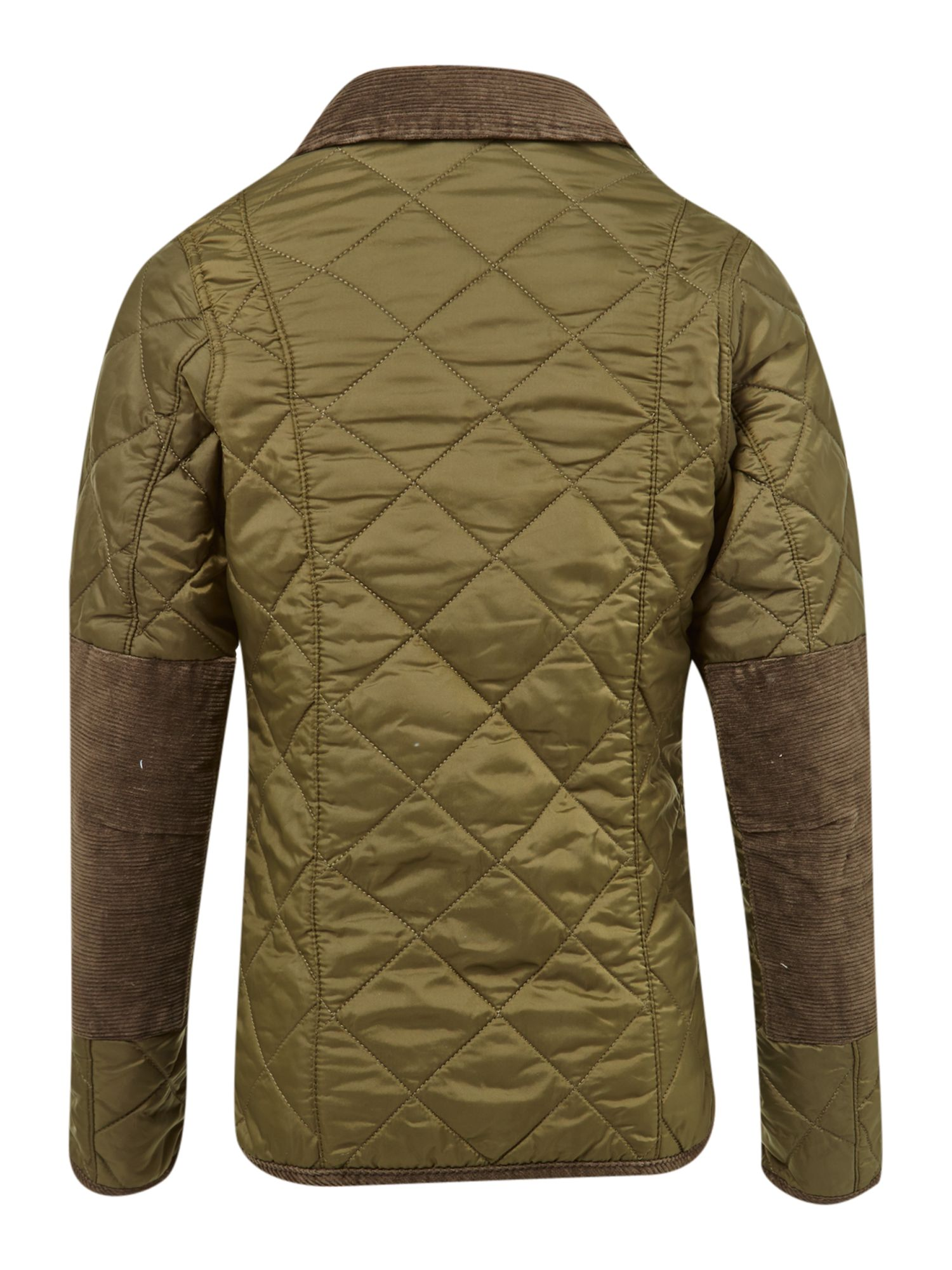 Boy`s quilted beagle print jacket