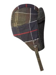 Shiel hunter tartan trapper hat