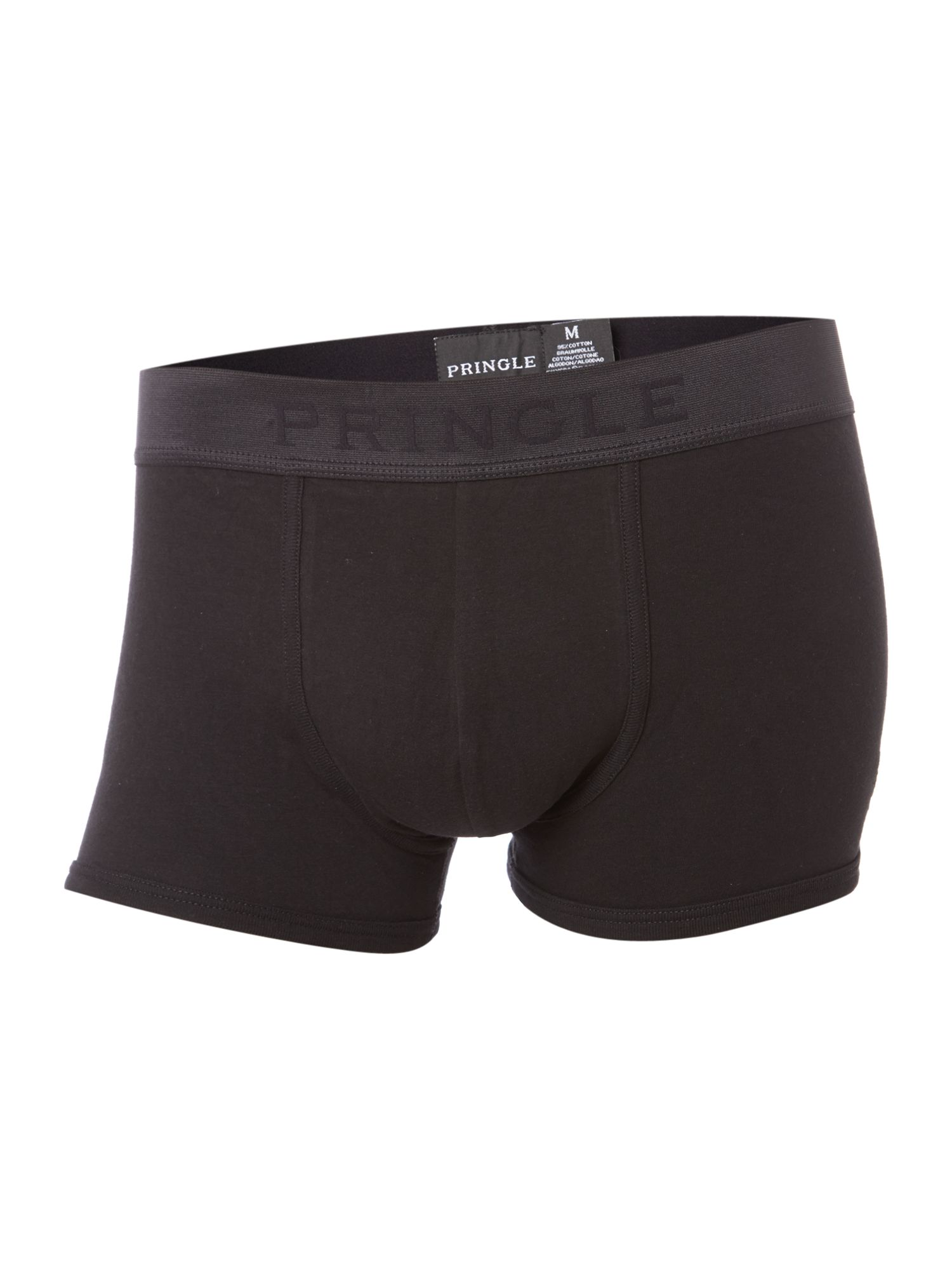 3 pack black trunks