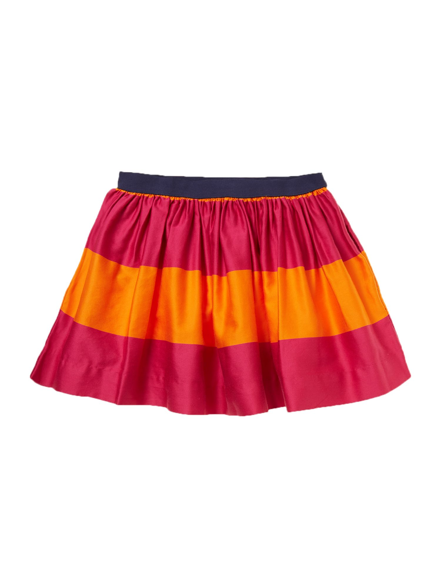 Girl`s striped skirt