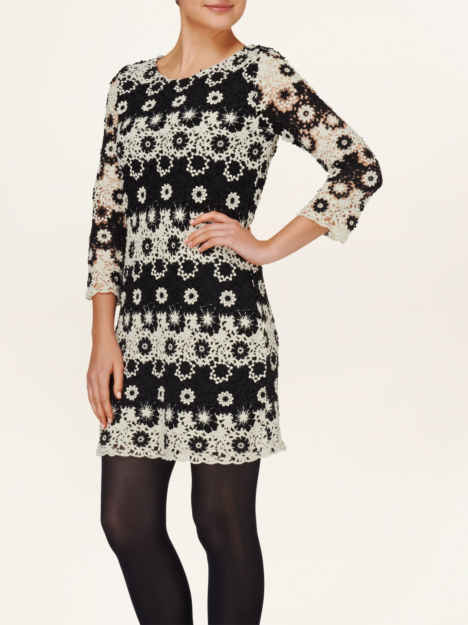 Cleo mono crochet lace dress