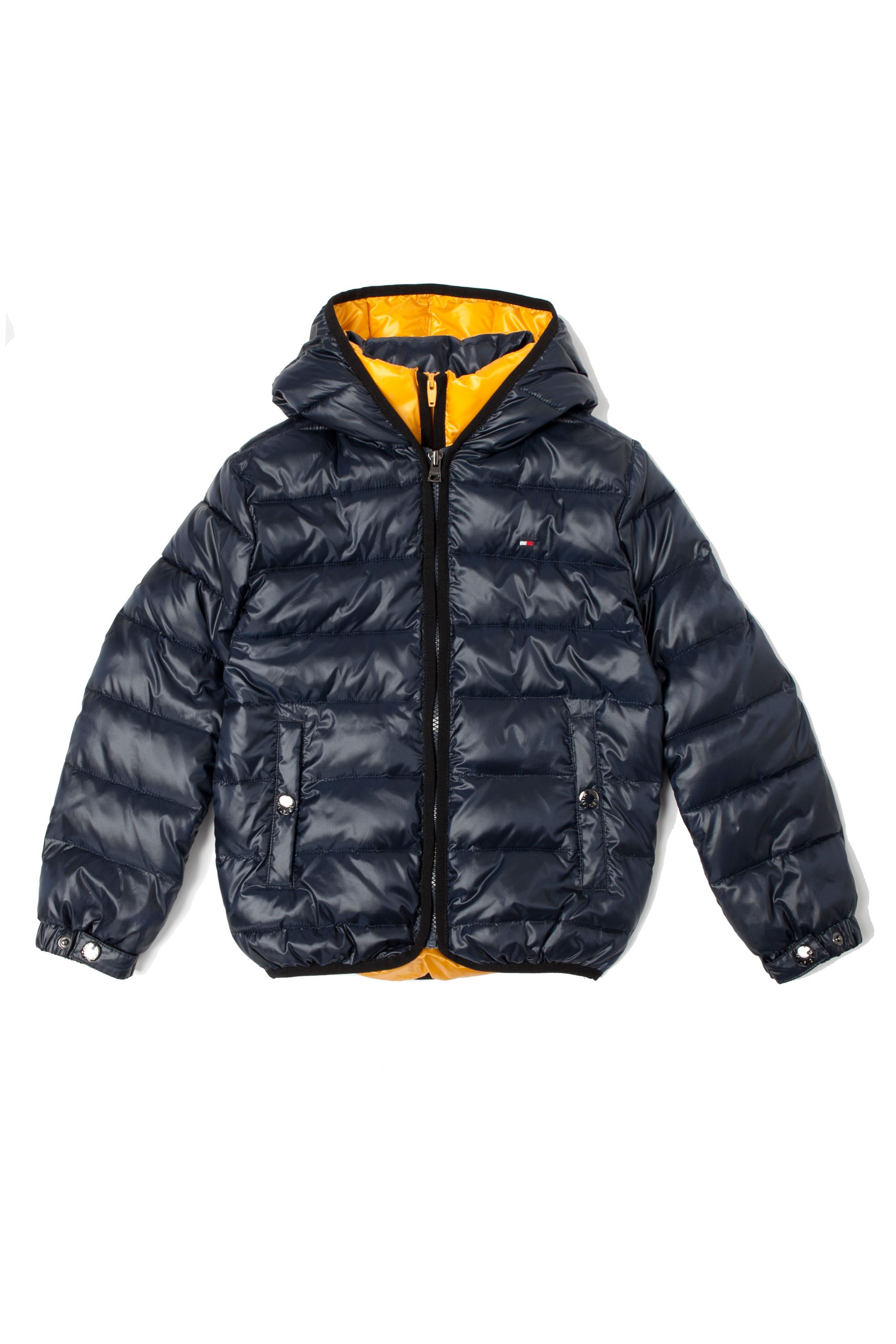 Boy`s hooded bomber coat