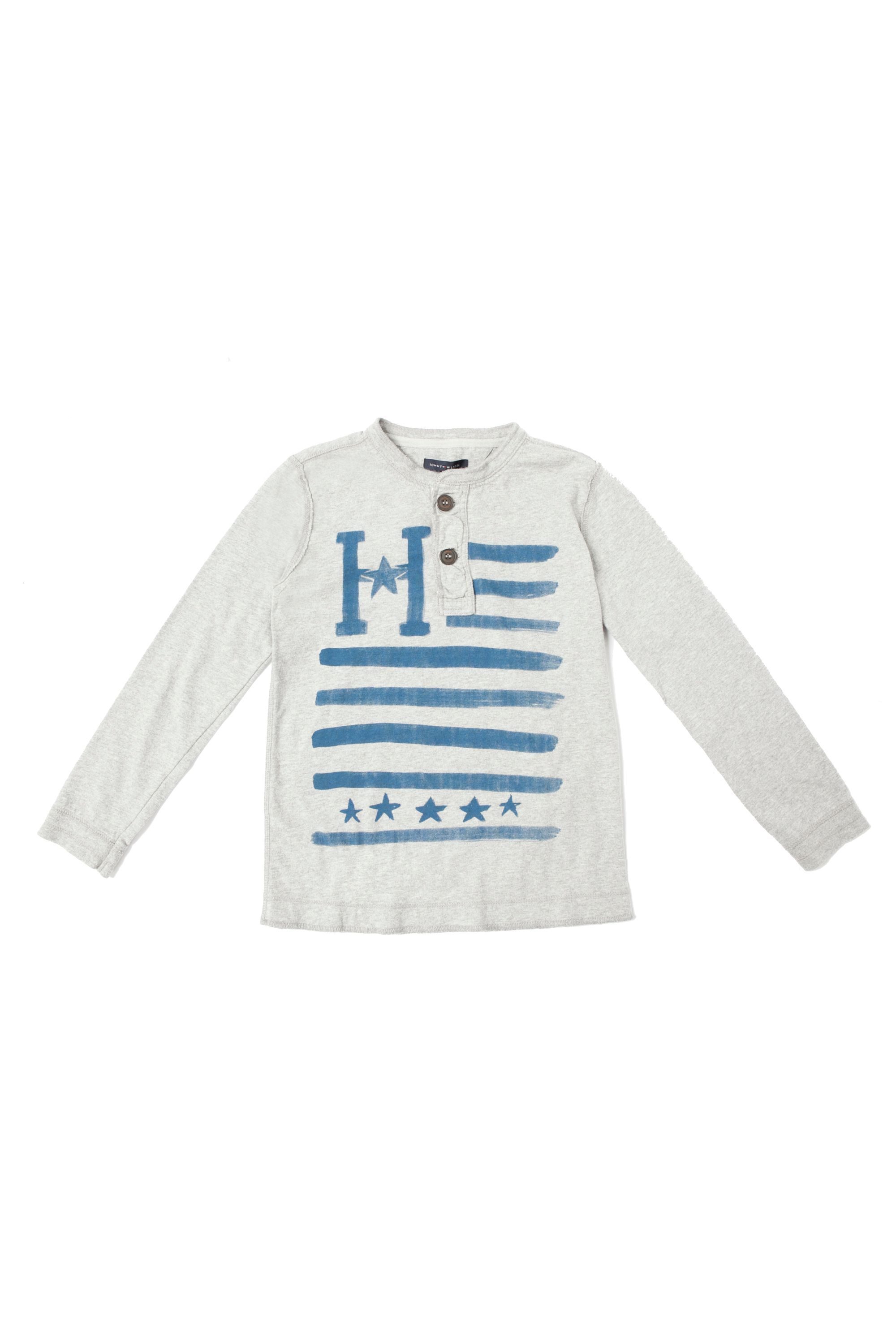 Boy`s long sleeved print t-shirt
