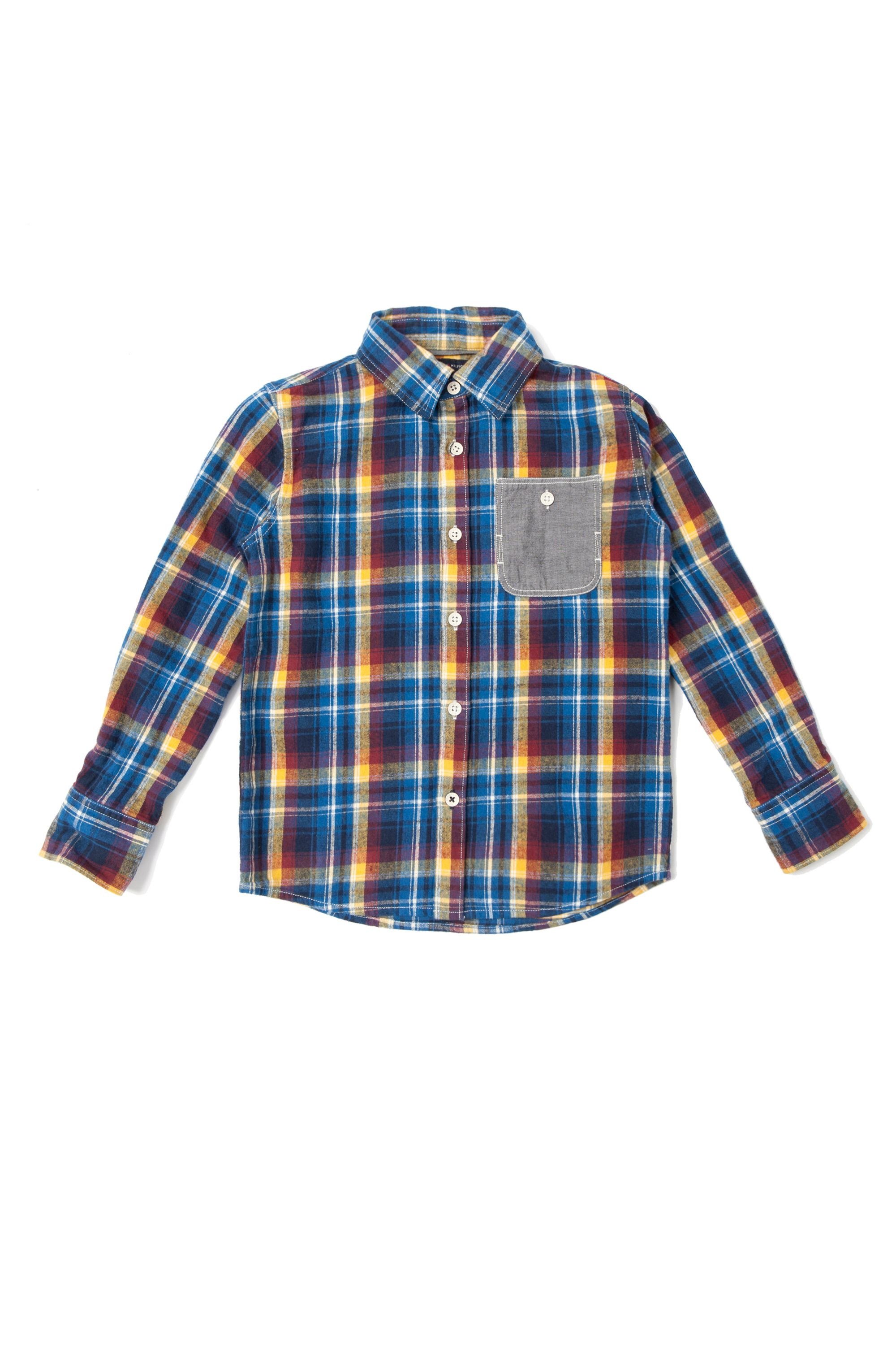 Boy`s limoges check shirt