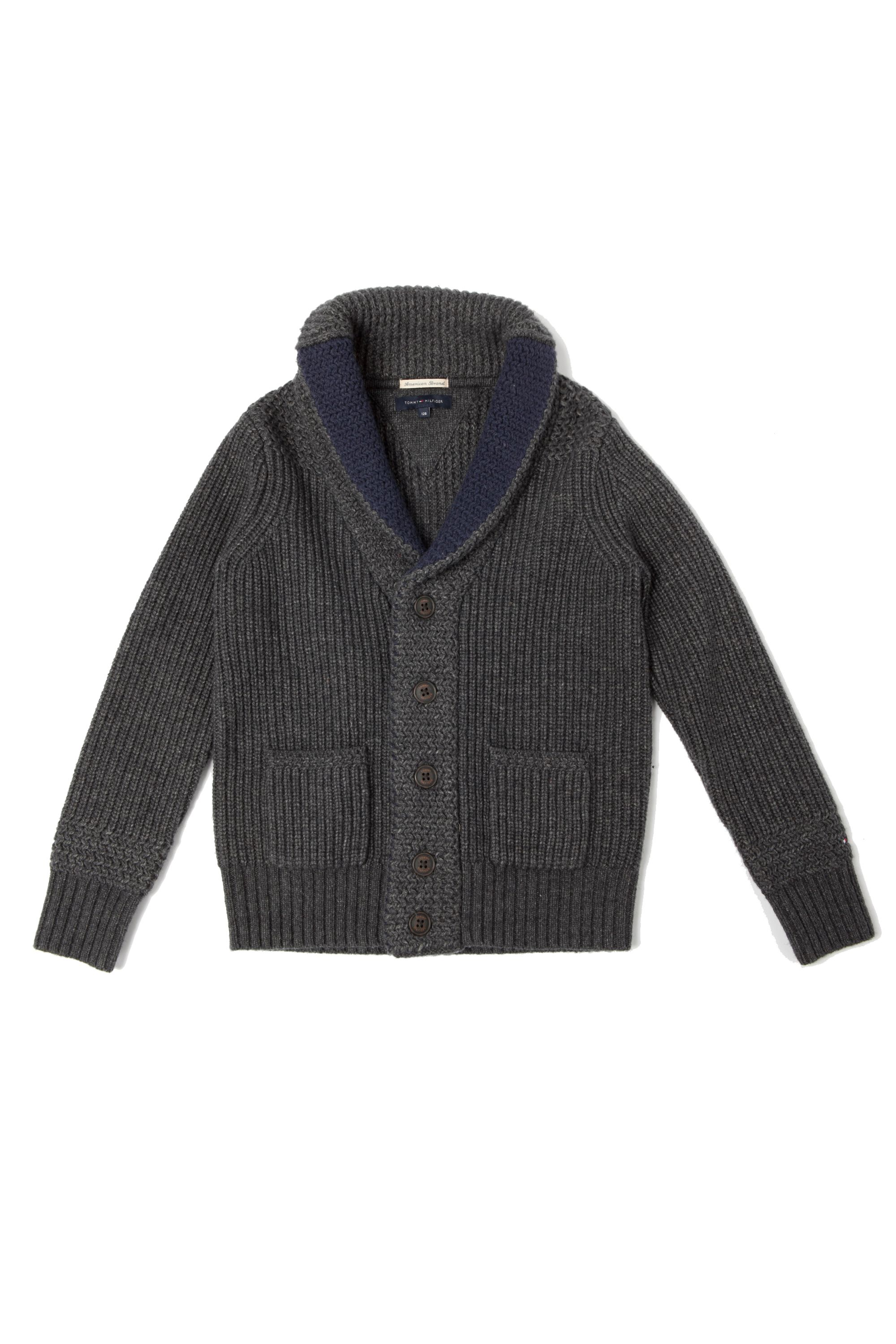 Boy`s stich shawl cardigan