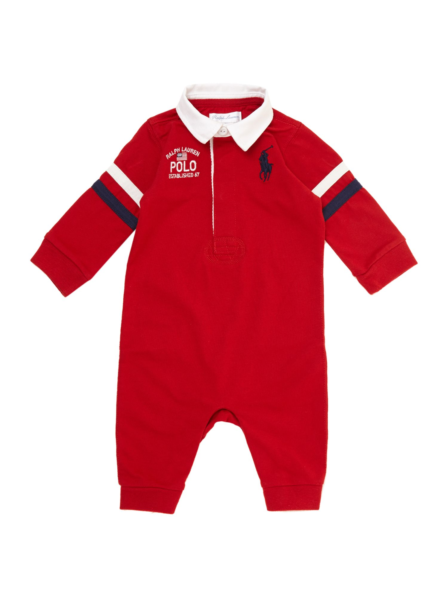 Boy`s rugby polo all-in-one