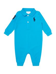 Boy`s polo all-in-one