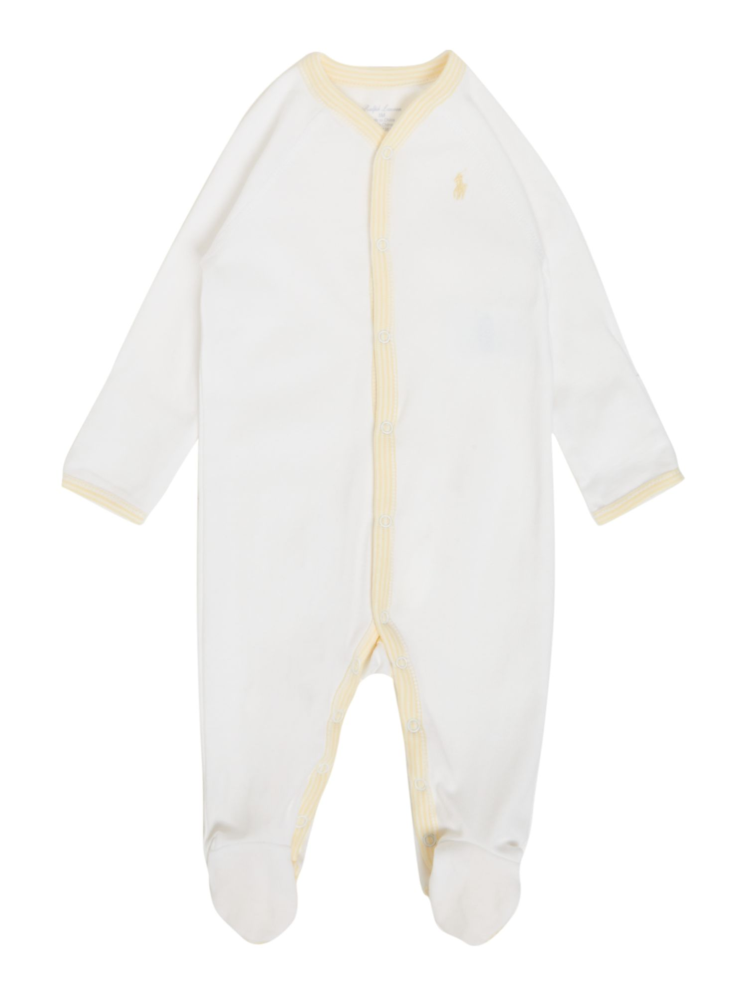 Unisex duck placket all-in-one