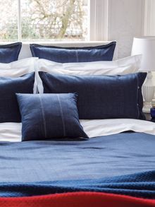 Hampton denim cushions 40 x 40 cm
