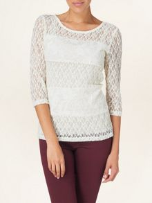 Mix and match lace top
