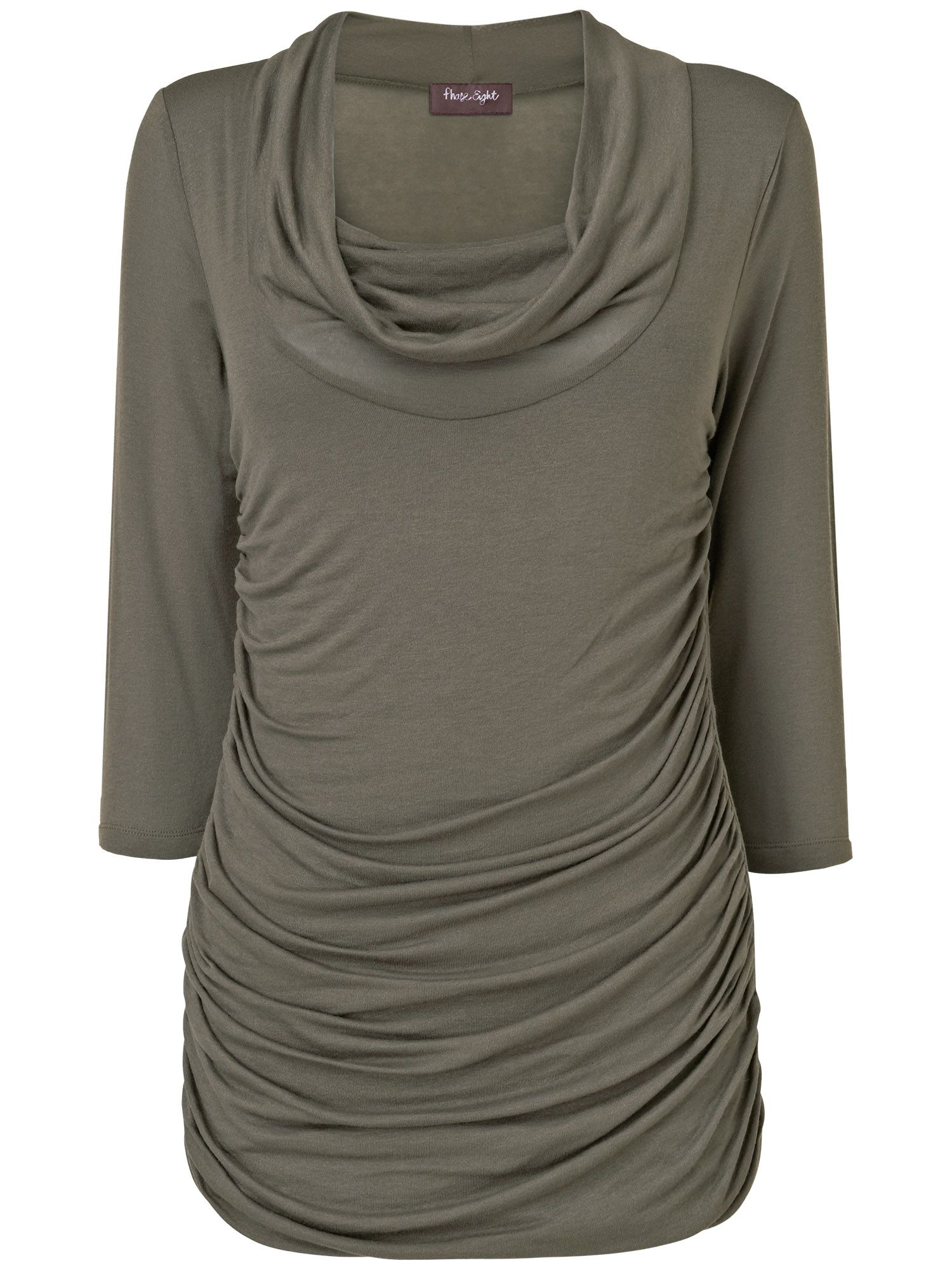 Caitlin cowl plain top