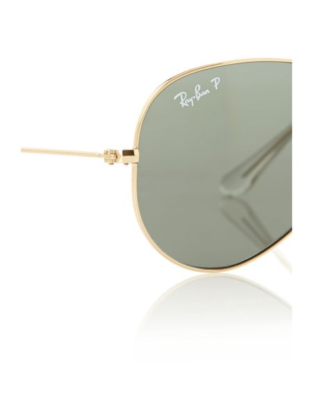Ray-Ban Men`s arista large polarised aviator sunglasses