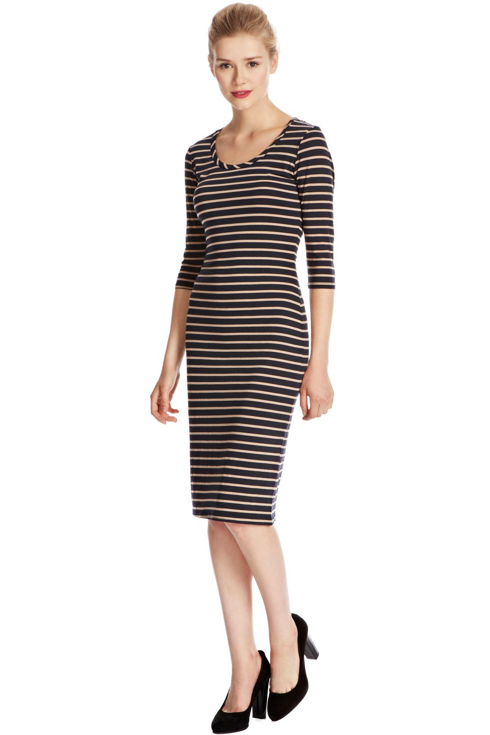 Stripe tube dress