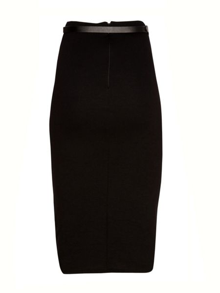 Jane Norman Belted pencil skirt