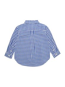 Boy`s gingham shirt