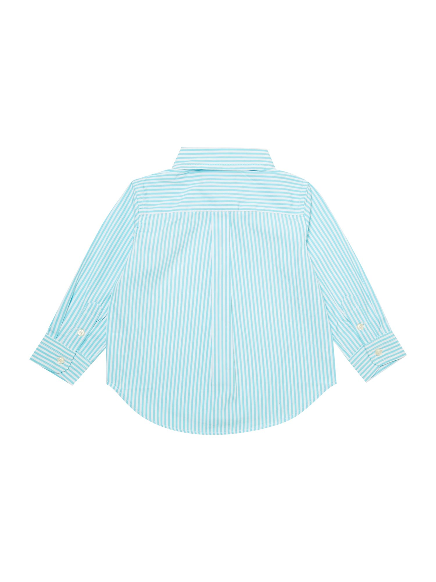Boy`s bengal stripe shirt