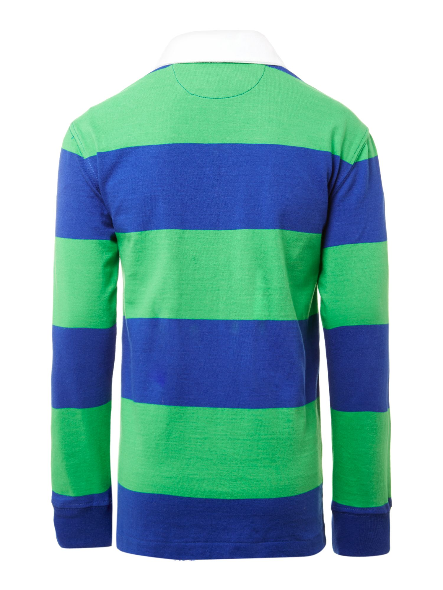 Boy`s stripe rugby top
