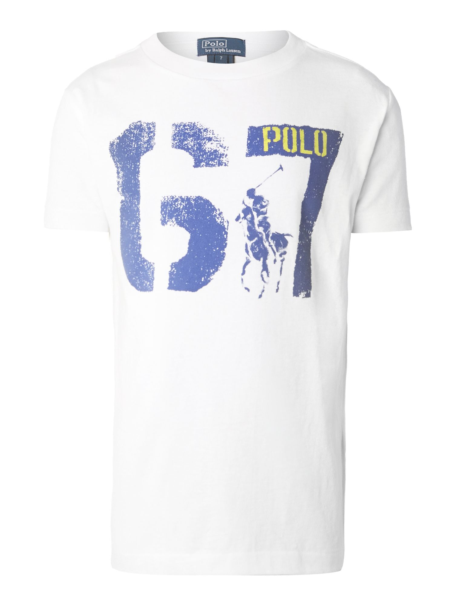 Boy`s 67 graphic t-shirt