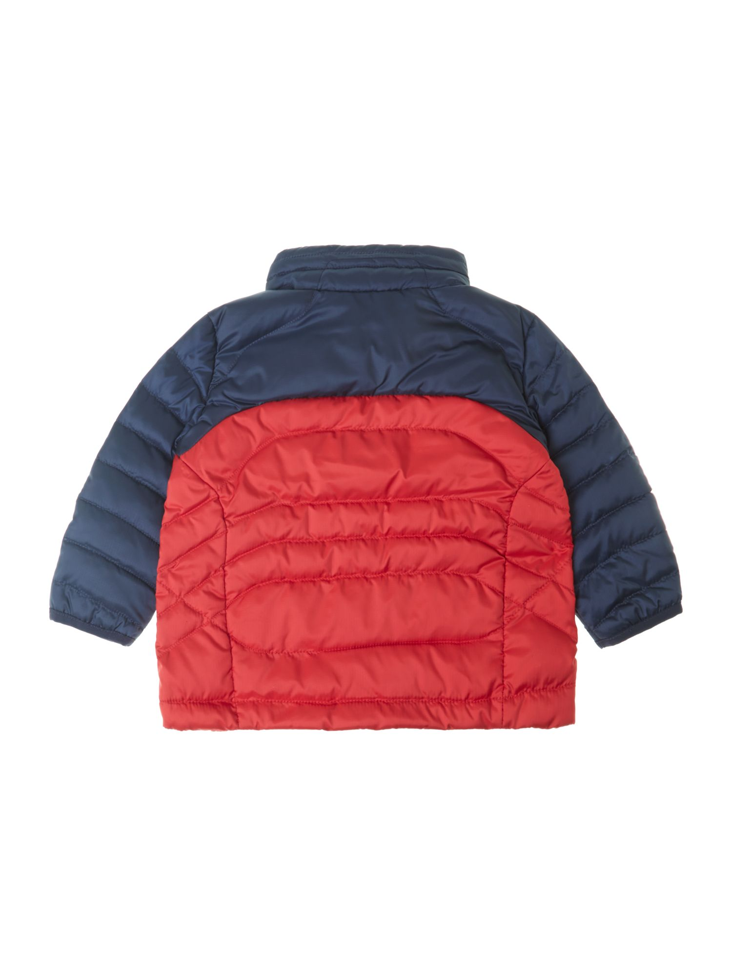 Boy`s contrast padded jacket