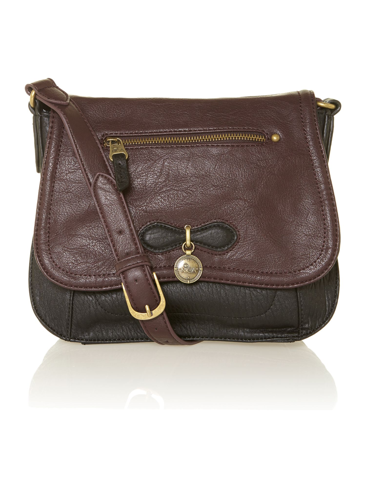Agnes black cross body