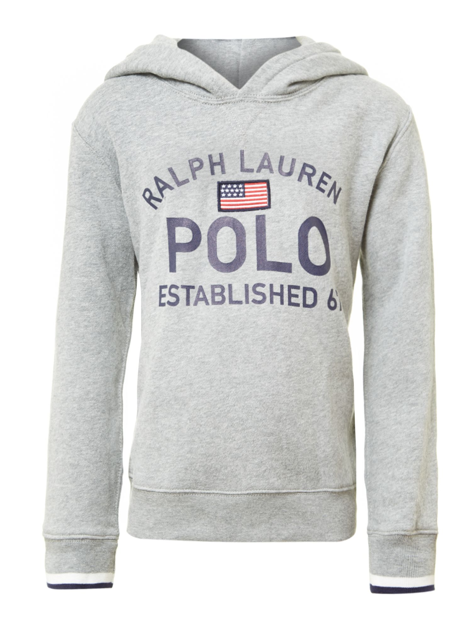 Boy`s polo logo hoody