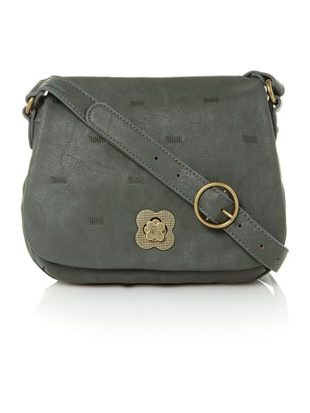 Nica Lulu green cross body bag