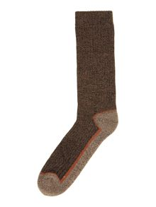 Cotton blend walking socks