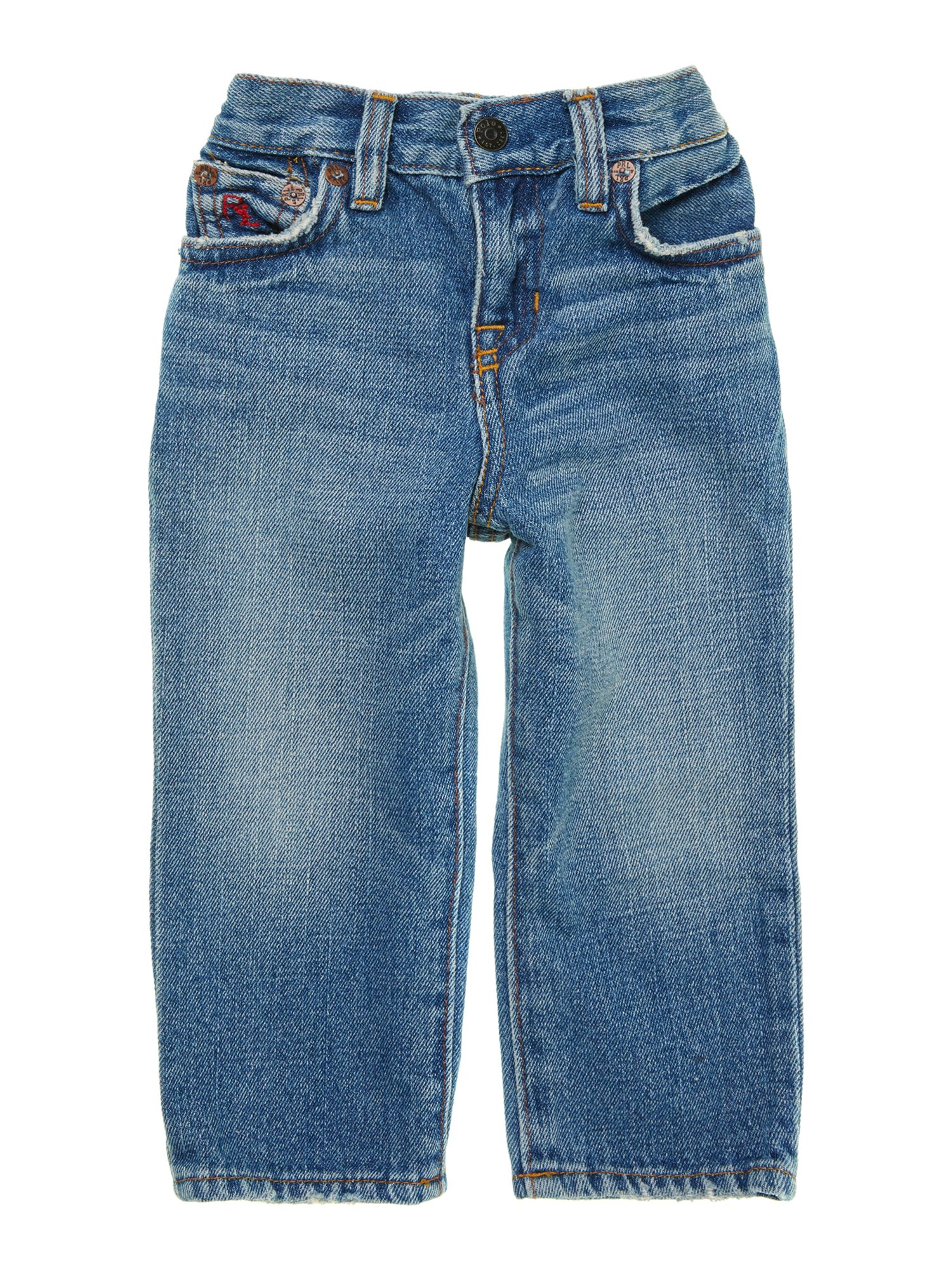 Boy`s light wash jean