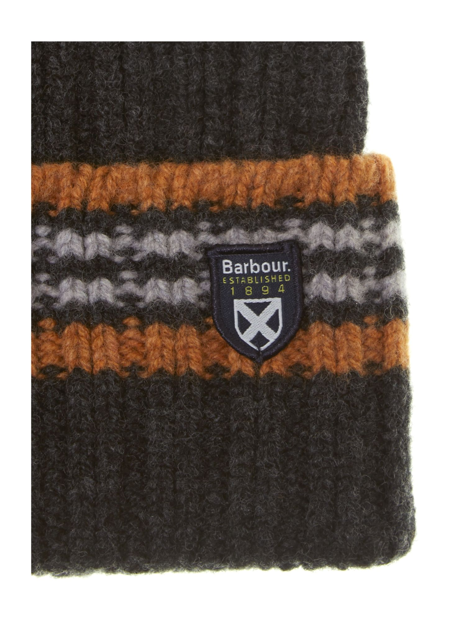 Crathes contrast tipping beanie