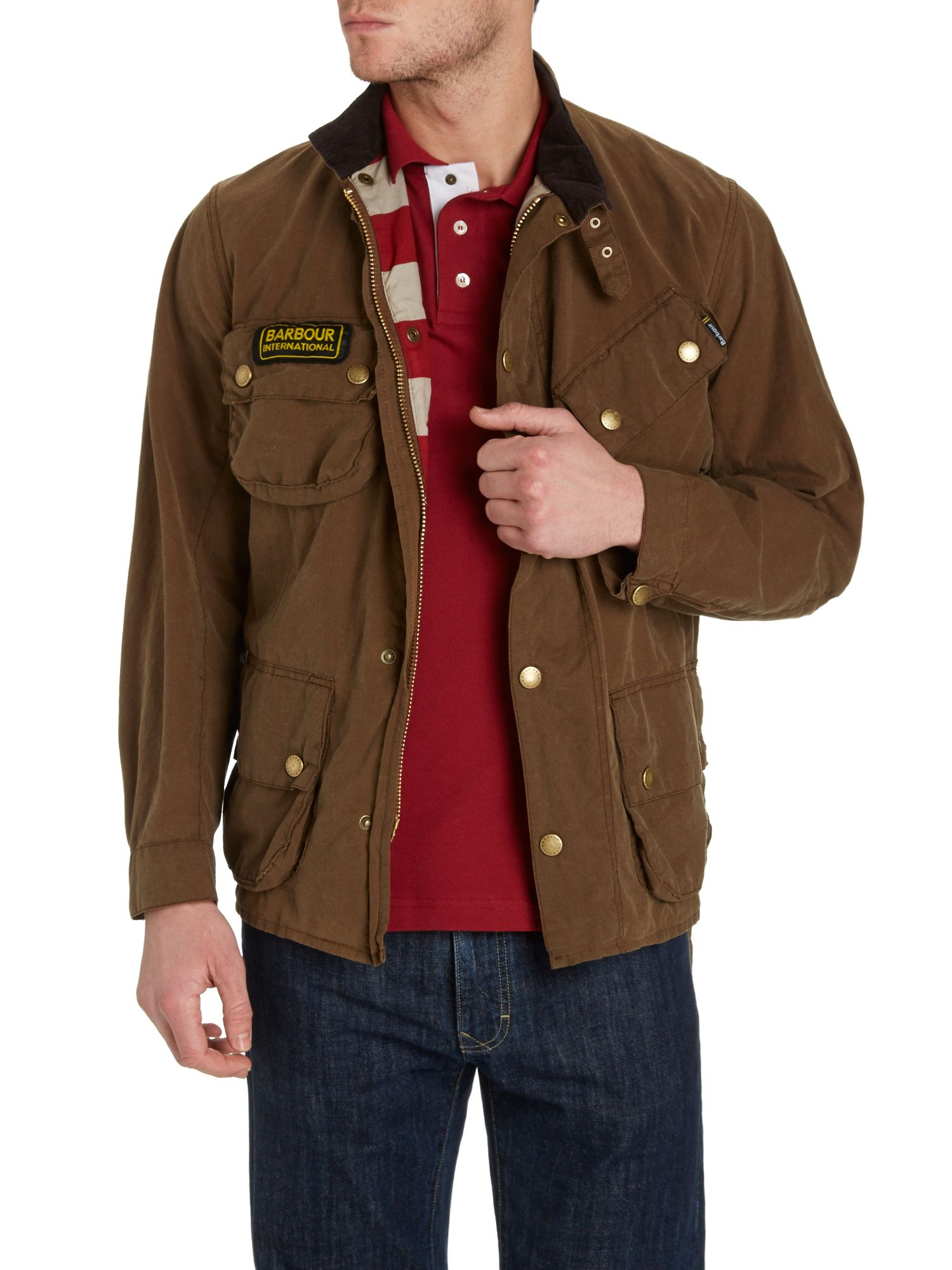 Steve McQueen washington wax jacket