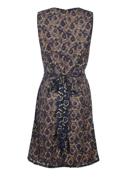 Uttam Boutique Lace cross over dress