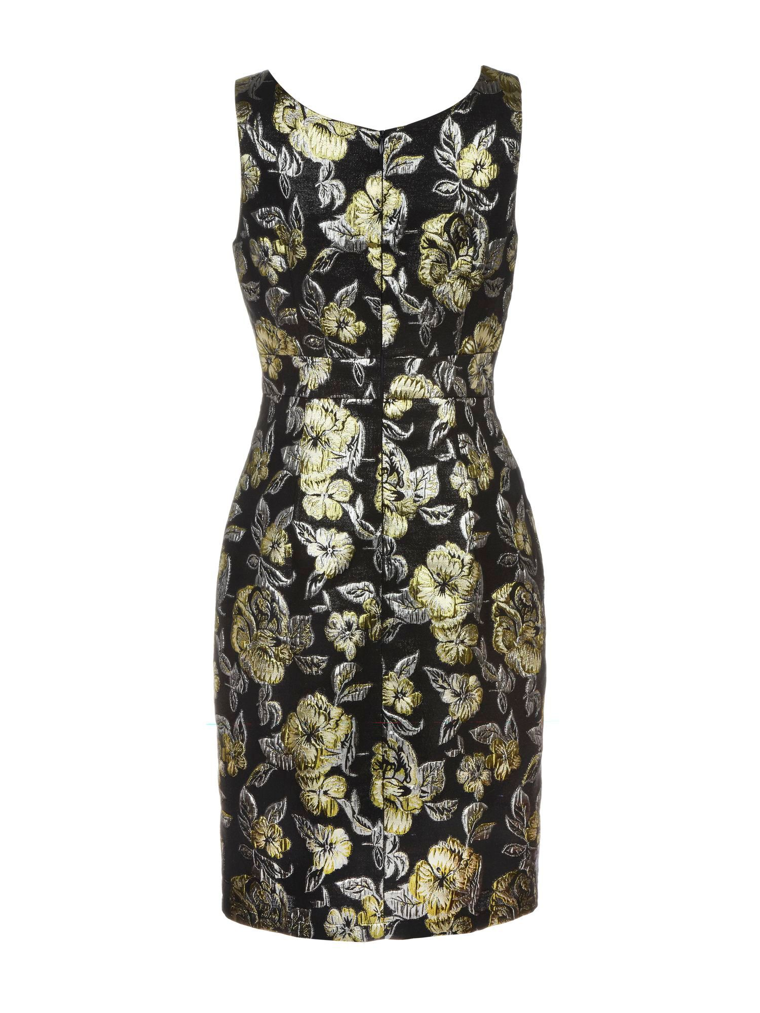 Brocade flower dress
