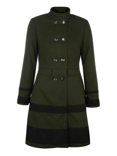 Uttam Boutique Stripe detail coat