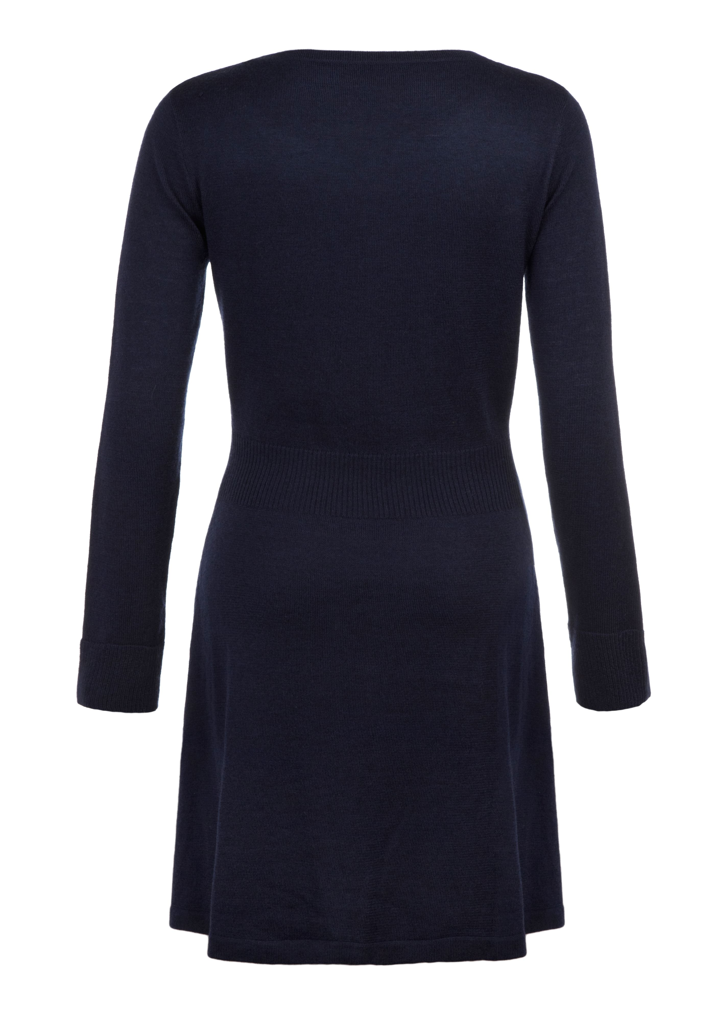 Daisy Rounded Collar Knitted Dress