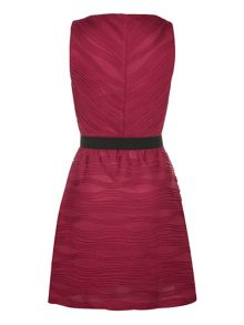 Belted party dress