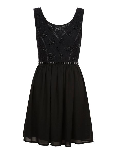 Yumi Lace detail dress