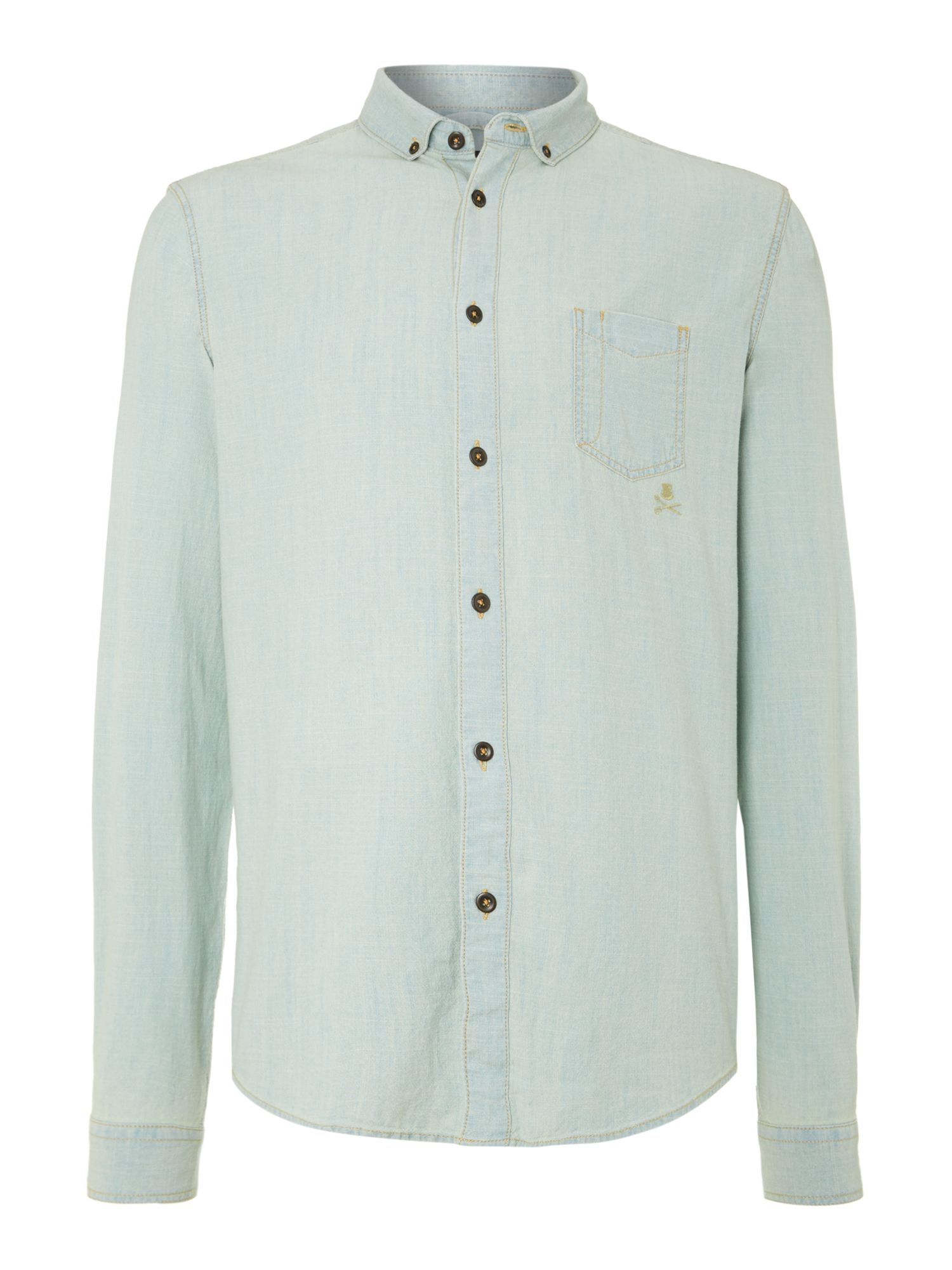 Chambray LS shirt