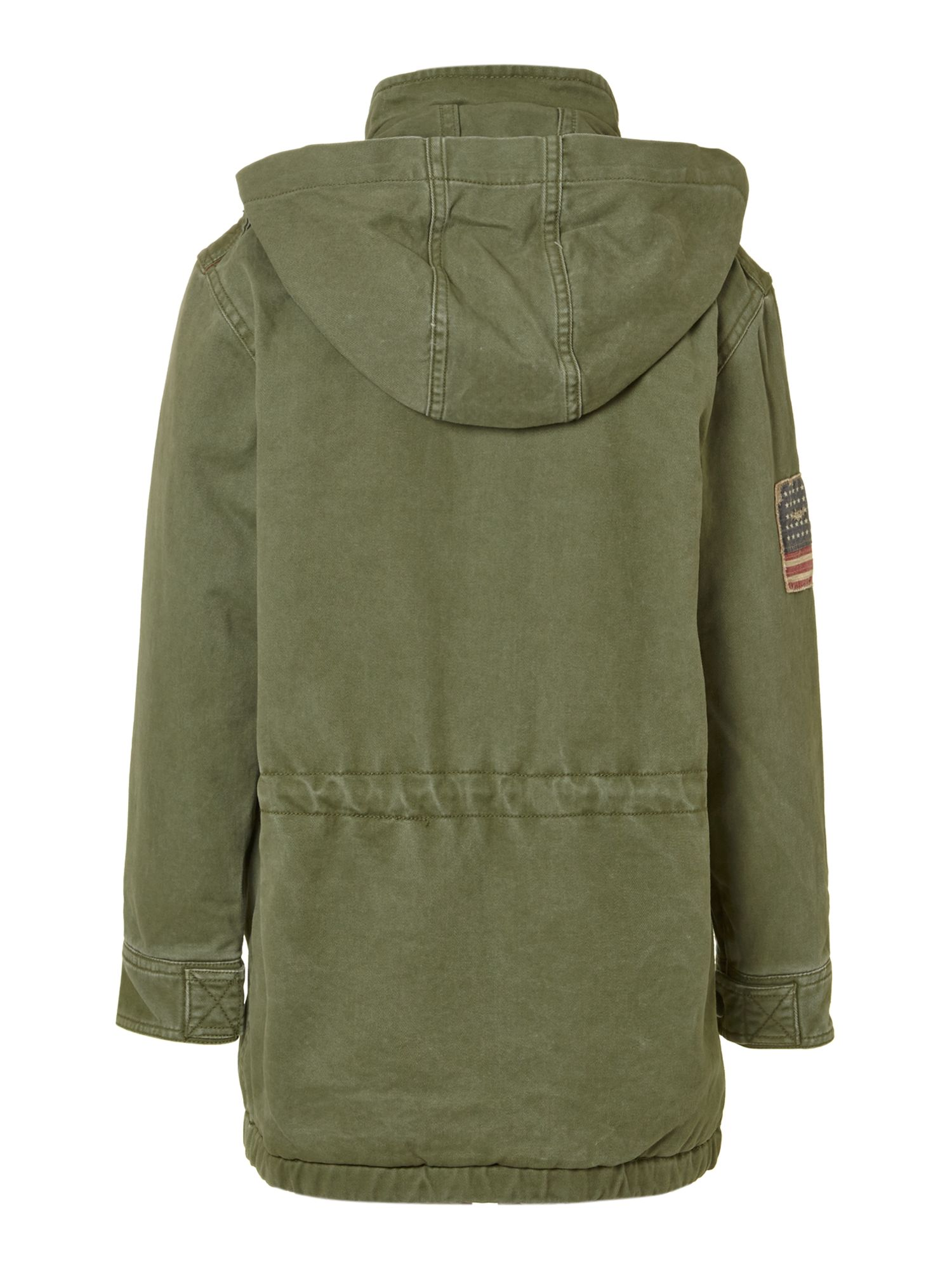 Boy`s flag utility jacket