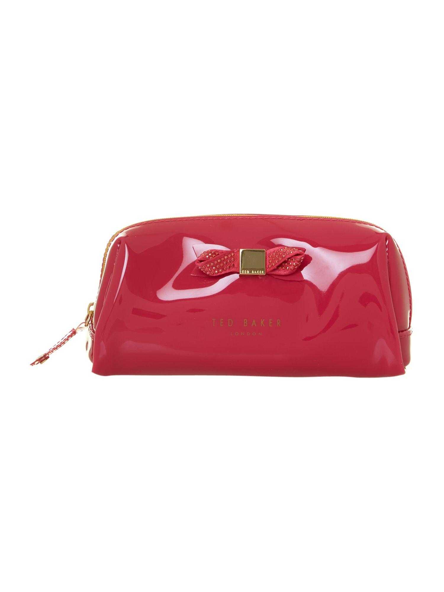 Small pink washbag