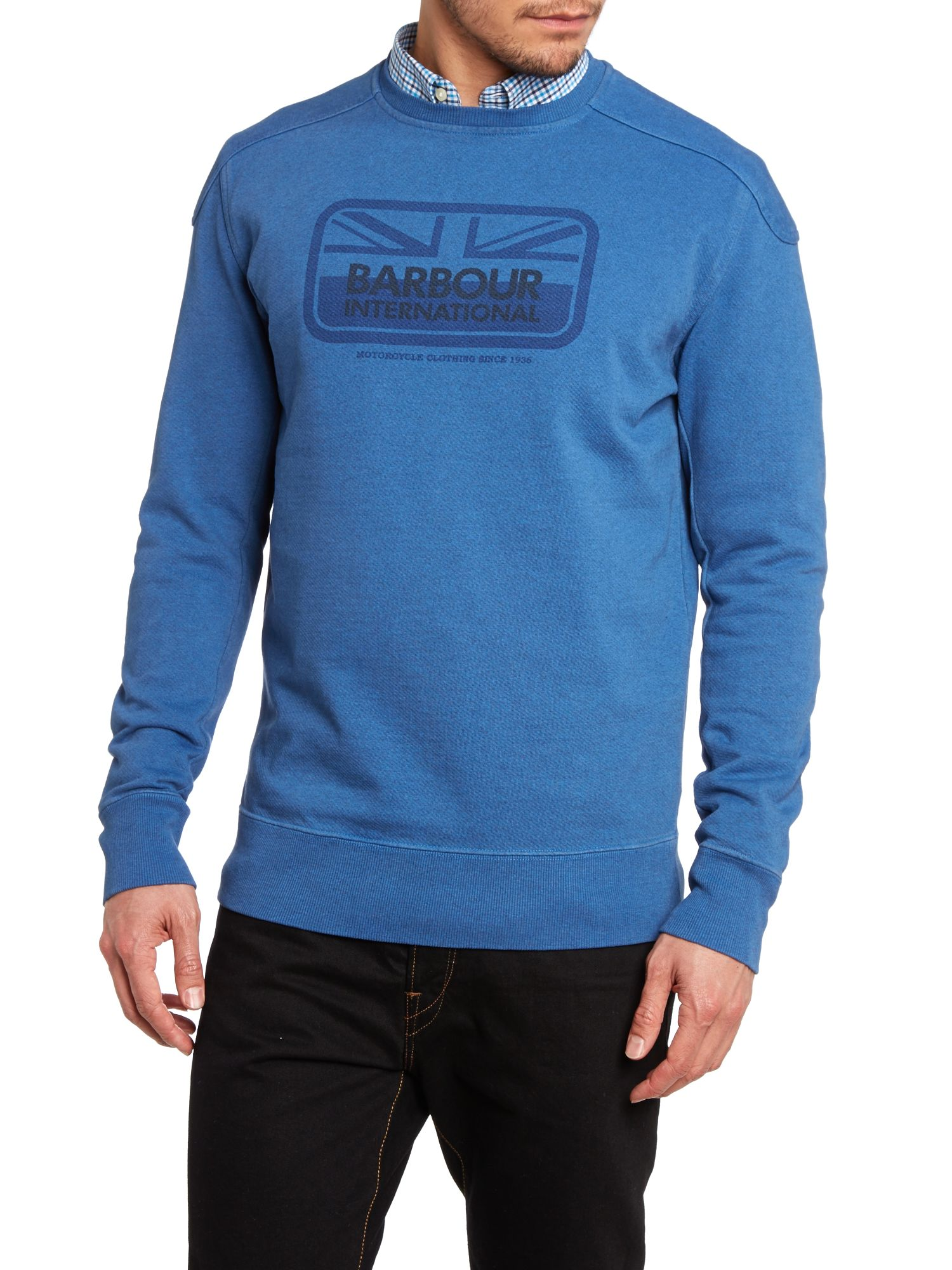 Tourer crew neck sweatshirt