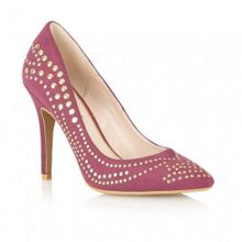 Ravel Maverick stud court shoes