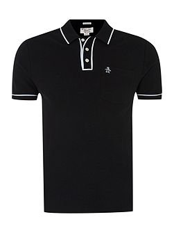 Tipped Slim-Fit Polo Shirt