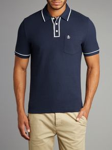 Original Penguin Tipped Pique Polo
