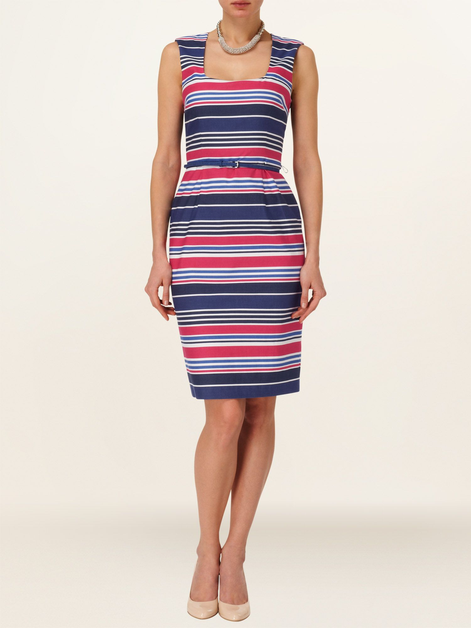 Hazel stripe dress