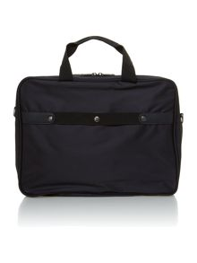 Linea executive black 15 briefcase