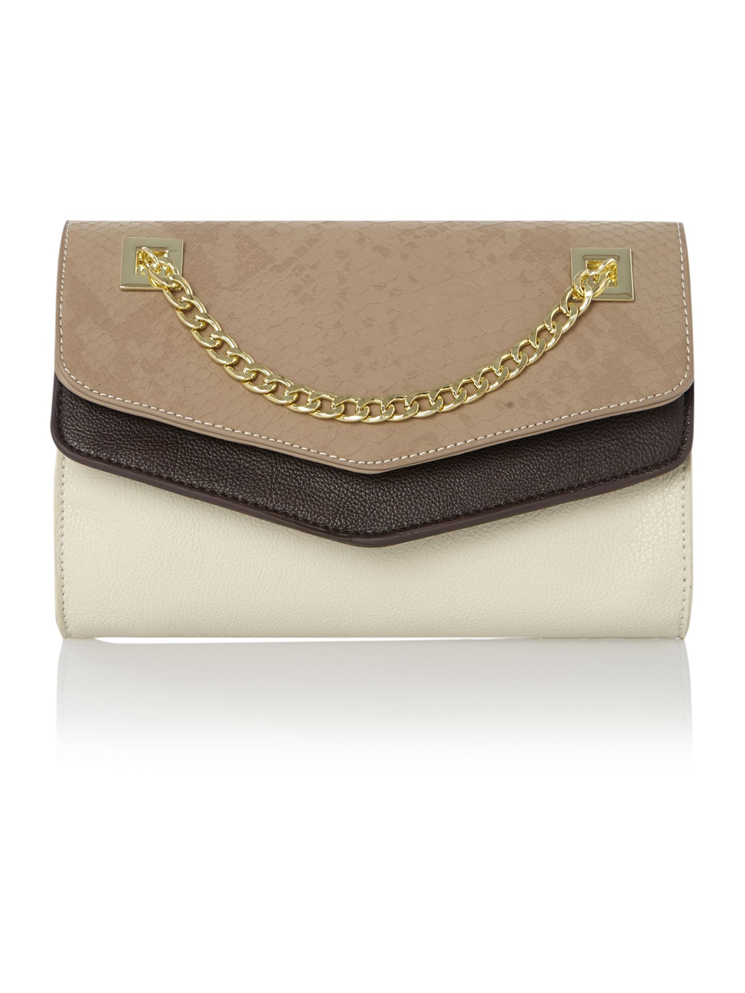 Ida chain clutch bag