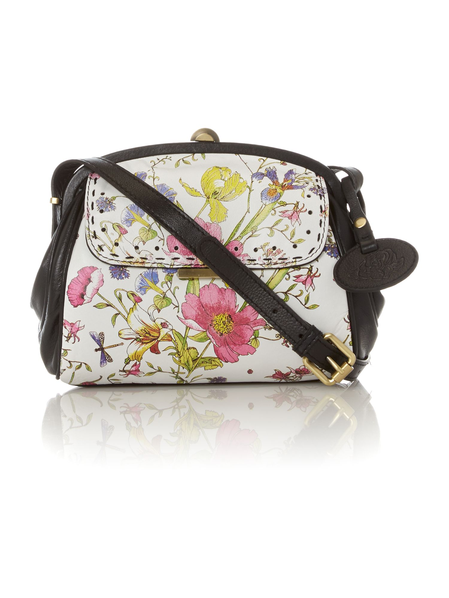 Thistle cross body frame bag