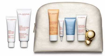 Clarins Face and Body Care Collection Top-To-Toe