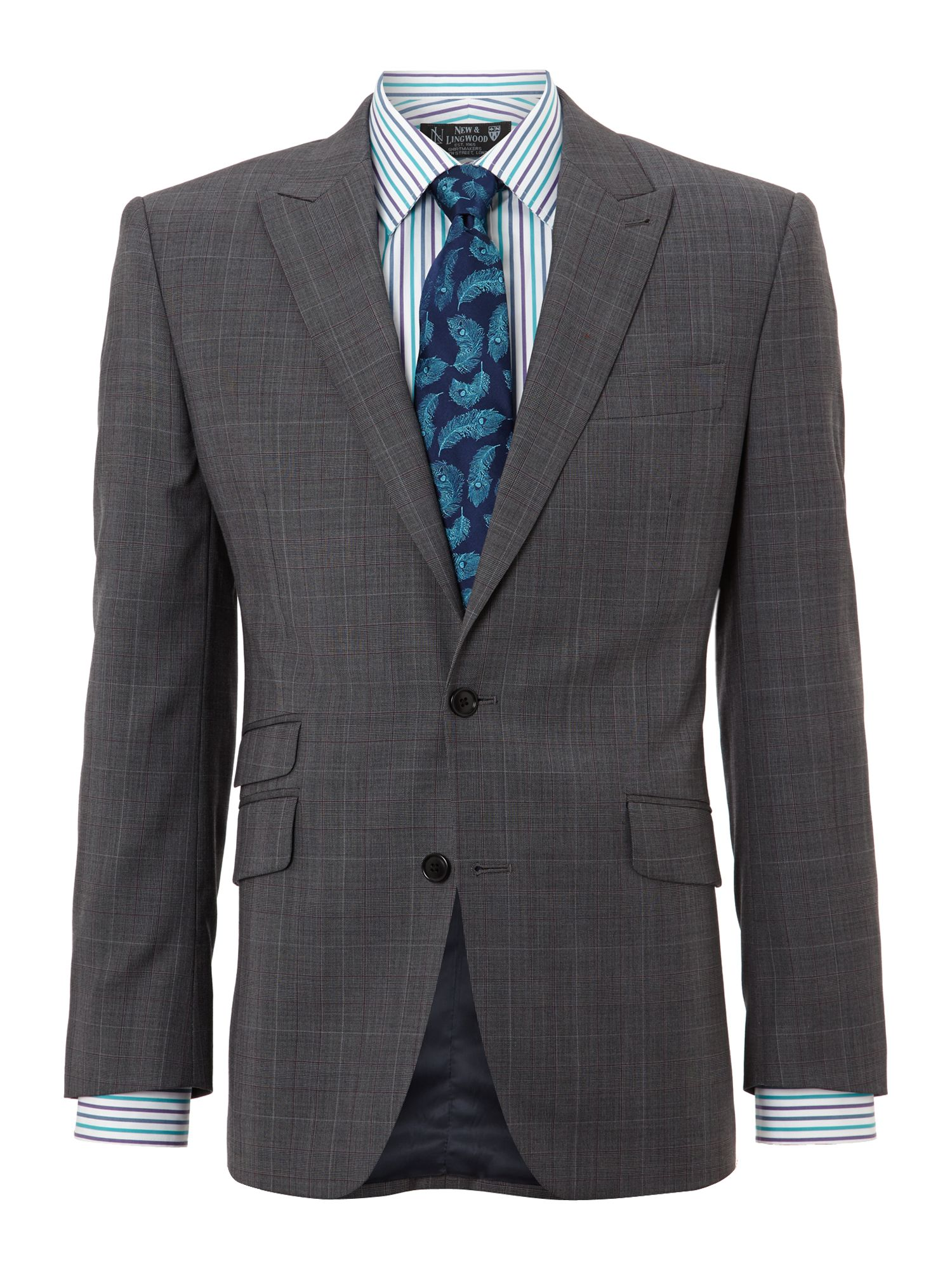 Swindale Peak Prince of Wales Check Suit Jacket